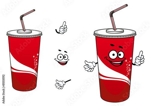Fotografía  Cola or soda cartoon character