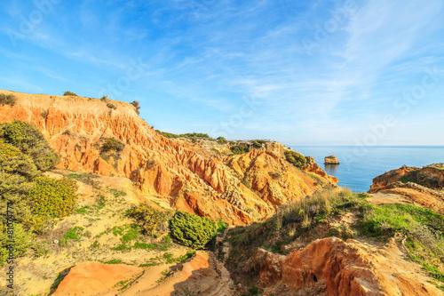 Fotografía  A view of a Parque Natural da Ria Formosa, Portugal
