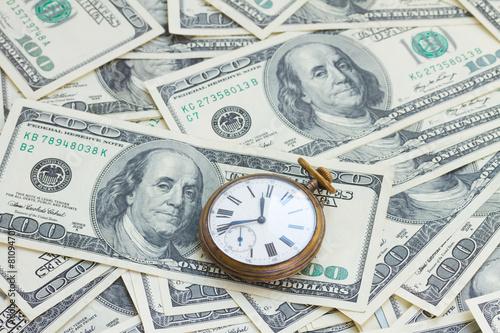 Fotografie, Obraz  money and time