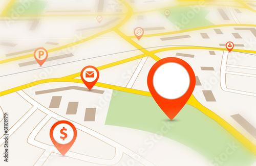 Fotografía  Navigation map