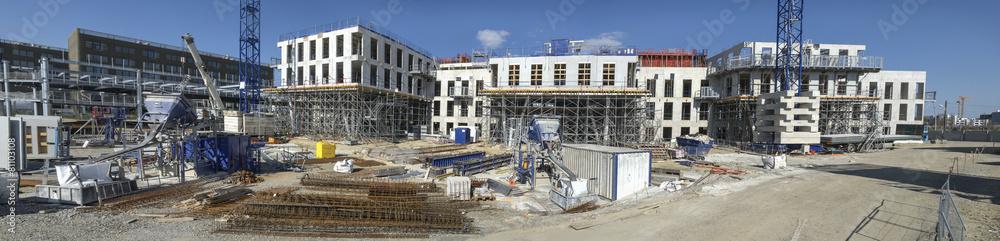 Fototapety, obrazy: Panorama de chantier