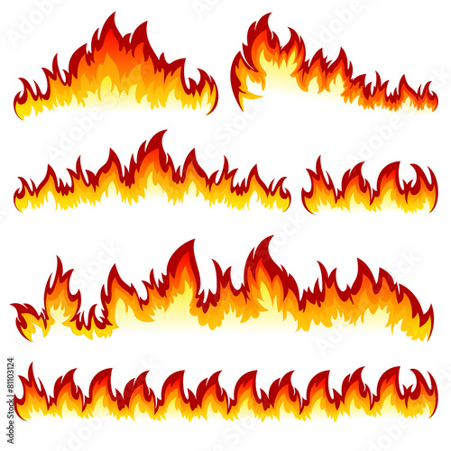 Set of flame #81103124