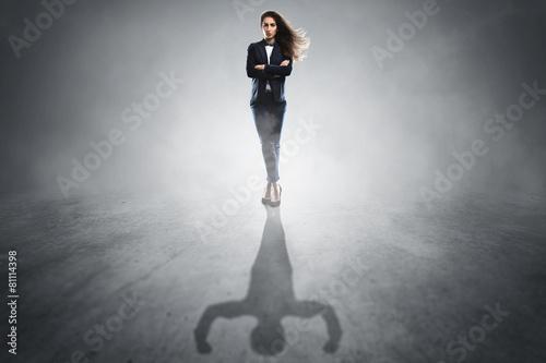 Fotografie, Obraz  Silná žena