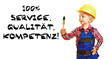 100% Service Qualität Kompetenz