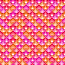 Seamless Pink River Fish Scales Texture