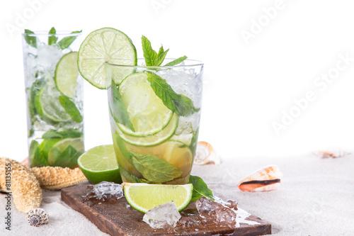 Poster  fresh mojito drink
