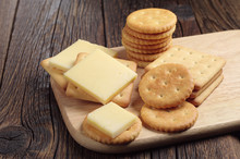 Cracker Cookies With Cheese