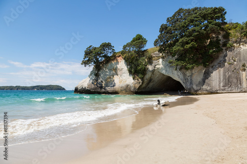 Tuinposter Cathedral Cove Cathedral Cove