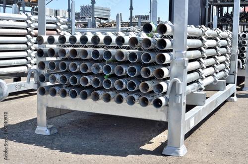 Scaffolding Materials Storage