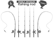 Fishing Rod Icons