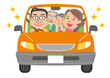 家族 ドライブ 高齢者