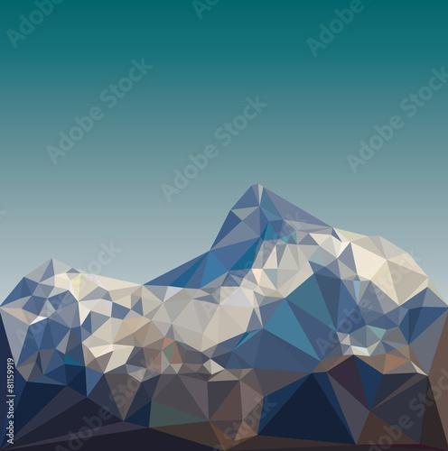 krajobraz-gorski-low-poly