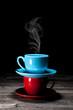 Kaffee Tassen Hintergrund