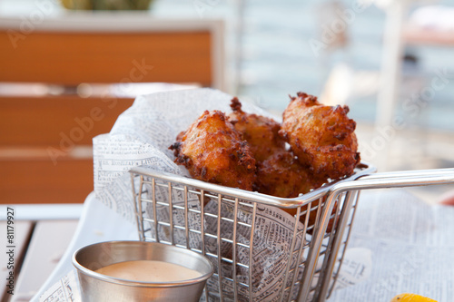 Conch Fritters Wallpaper Mural