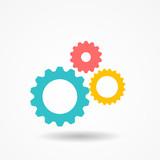Gear Icon Vector Illustration