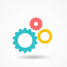 Gear Icon Vector Illustration