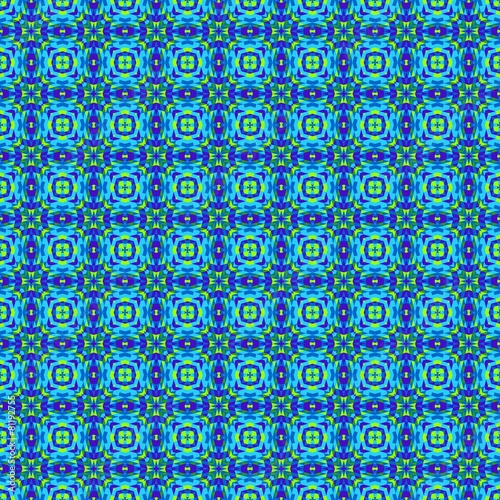Spoed Foto op Canvas Psychedelic Seamless pattern