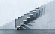 Leinwandbild Motiv stairs leading upward
