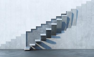 Panel Szklany Architektura stairs leading upward