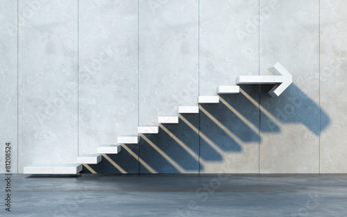 Fotomural stairs going  upward