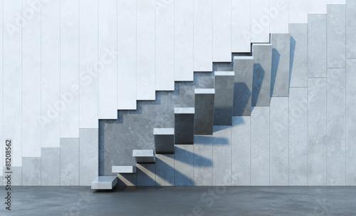 Obraz stairs leading upward - fototapety do salonu