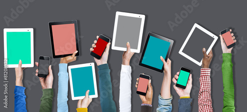 Canvastavla Digital Device Online Technology Social Media Concept
