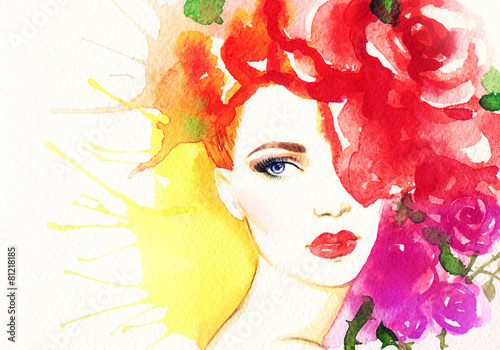 Fototapety, obrazy: fashion illustration