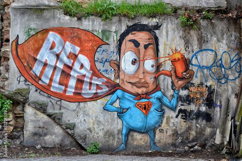 Photo  Duvar Resim Graffiti