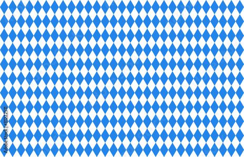 Bayern Rauten blau Fototapeta
