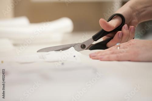 Fototapeta  fashion designer at work