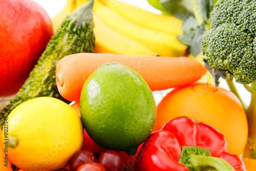 In de dag Verse groenten 新鮮な野菜と果物