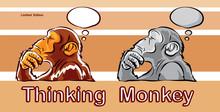 Monkey Was Thinking Action