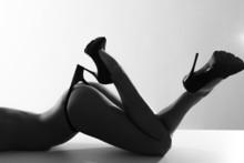 Beautiful Naked Brunette In Hi...