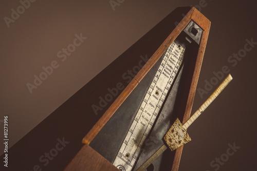 Vintage metronome Canvas Print