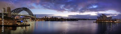 In de dag Sydney Sydney harbour