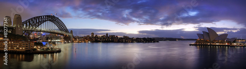 Poster Sydney Sydney harbour