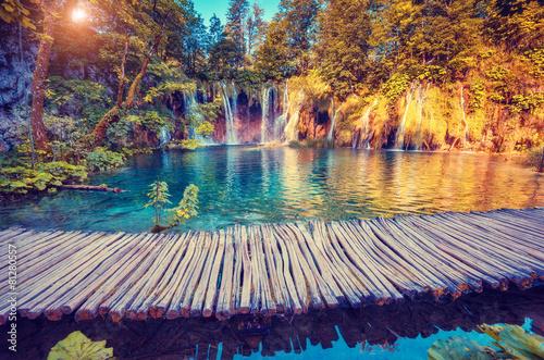 Fototapeta premium Park Narodowy Jezior Plitwickich
