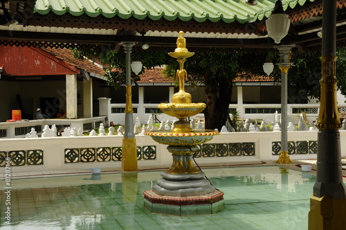 Valokuva  Ablution of Kampung Kling Mosque in Malacca, Malaysia