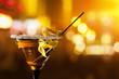 canvas print picture - martini