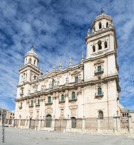 Cathedral in Jaen Wallpaper Mural