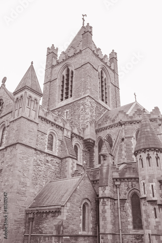 Christ Church Cathedral, Dublin, Ireland Poster