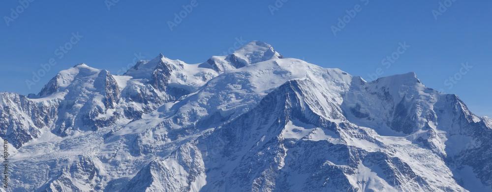 Papiers Peints Massif Du Mont Blanc   Nikkel Art.fr