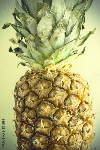 Fototapety, obrazy: Ripe pineapple