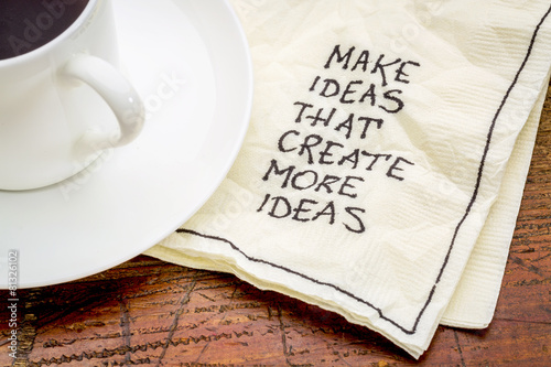 Make ideas advice on napking