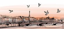 """View Of Paris From """"Pont Des A..."""