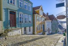 Gamle (old) Bergen Museum In Bergen, Norway