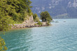 canvas print picture swiss lake