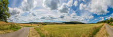 Landschaft Panorama Weser Berg...