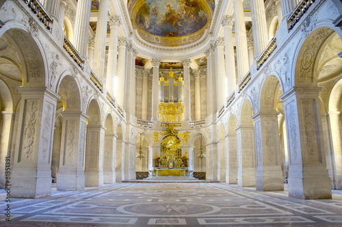 Leinwand Poster 王室礼拝堂、ベルサイユ宮殿