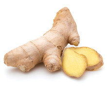Fresh Ginger Root Or Rhizome I...